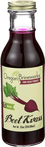Beet Kvass, (6 Pack), Organic, Raw, Fermented, Probiotic, 12 Fl Oz