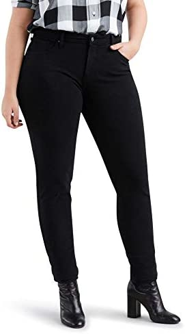 Levi s Women s Plus Size Premium 311 Shaping Skinny Jeans Ultra Black 38 US 18 R product image