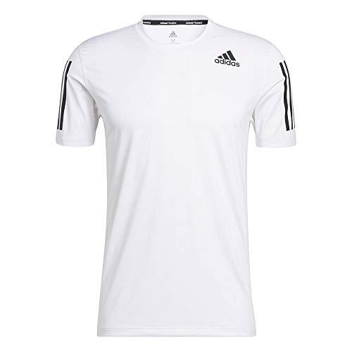 adidas GM0509 TF SS FTD 3S T-Shirt Mens White L