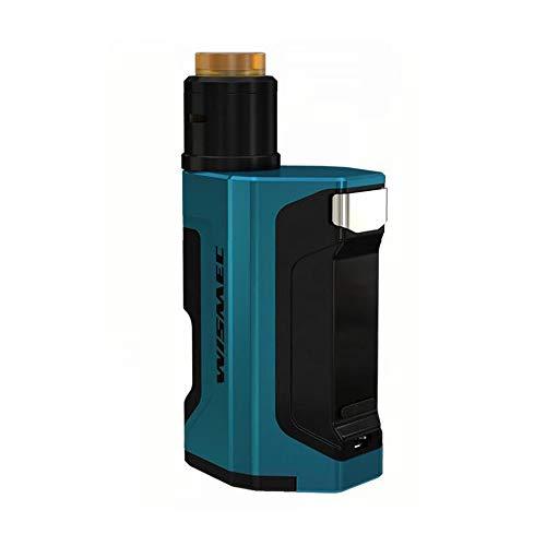 Original WISMEC Luxotic DF Box MOD 200W con Guillotina V2 RDA 7ml Botella E Cigarrillo Squonker Vape Kit Power by 18650 Batería (Sin celda)