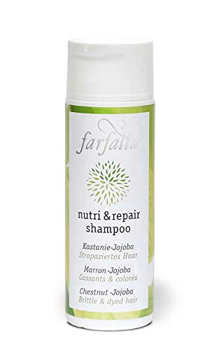 farfalla Nutri & repair shampoo, Kastanie-Jojoba, 200 ml