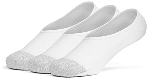 Galiva Mädchen Socken, unsichtbar, Linersocken, Füßlinge Baumwollsocken - 3 Paar, Klein, Weiß