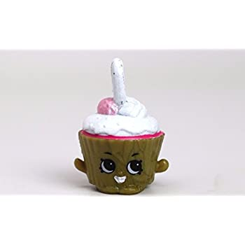 Shopkins Season 5 #5-123 Cupcake Chic Charm M | Shopkin.Toys - Image 1