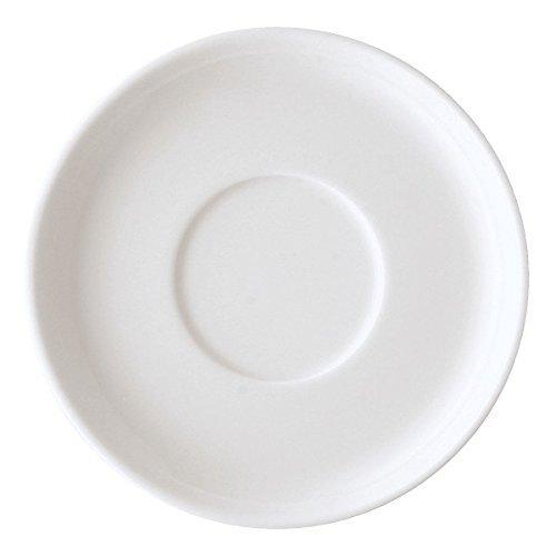 Arzberg Cucina-Basic ROK wit espresso-schoteltje, porselein, wit 15,4 x 15,4 x 9 cm