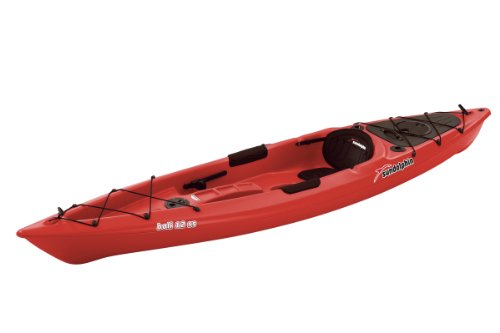 SUNDOLPHIN Sun Dolphin Bali SS Sit-on top Kayak (Red, 12-Feet)