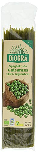 Biográ Spaguetti De Guisantes Biogra Bio Biográ 400 g