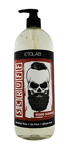Etolab - Champú para barba. Fórmula delicada, elimina impurezas y olores (1000 ml)