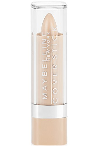 Maybelline New York Cover Stick Corrector Concealer, Light Beige, 0.16 oz.
