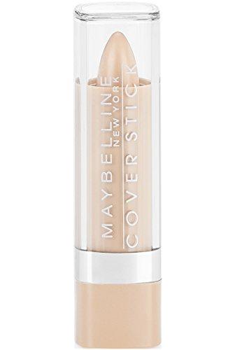 Maybelline New York Cover Stick Corrector Concealer, Light Beige, 0.16 oz.