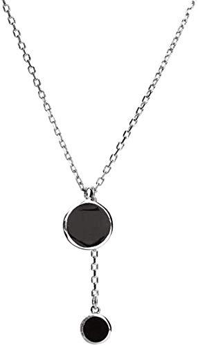 Aluyouqi Co.,ltd Collar Collarbone Collar Mujer Colgante Collar