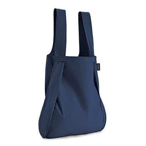 notabag ノットアバッグ BAG & BACKPACK NTB002 軽量 2way トートバッグ リュックサック バックパック 男女兼用 エコバッグ コンパクト ネイビー