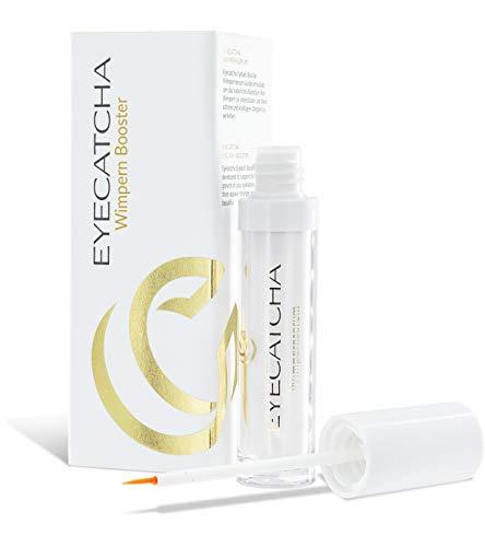 Eyecatcha Wimpern Booster Wimpernserum - mit Black Sea Rod Oil – Wimpernserum Testsieger 2020 für maximiertes Wimpernwachstum & Verträglichkeit, 3ml