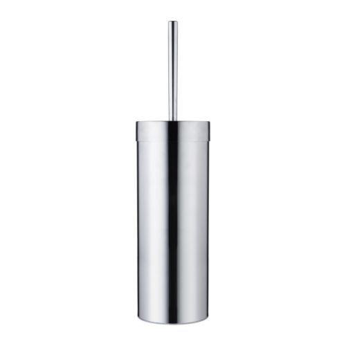 Unbekannt IKEA WC-Bürste Sävern Toiletten-Bürste aus Edelstahl - Länge: 35 cm Durchmesser: 11 cm