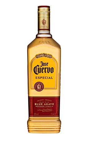 Jose Cuervo Especial Reposado Original Tequila Mexiko (1 x 0,7 l) – mexikanischer Tequila mit 38 % Vol. Alkohol