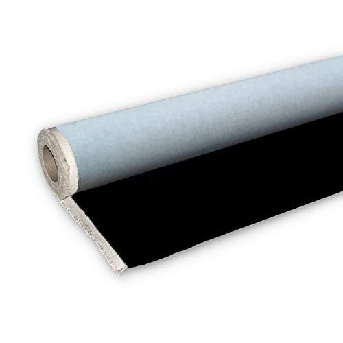 Niik Rotolo Tela Tele per dipingere Nera per dipingere 100% Cotone 212 cm / 10 mt in Rotoli pittorica da Pittura Nere