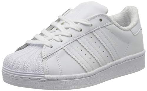 Adidas Superstar C, Zapatillas de Deporte, Blanco (Cloud White/Cloud White/Cloud White), 33 EU