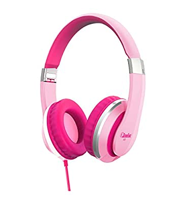 Elecder i41 Kids Headphones, Headphones for Kids Children Girls Boys Teens Foldable Adjustable On Ear Headphones with 3.5mm Jack for iPad Cellphones Computer MP3/4 Kindle Airplane School Pink/Purple from ELECDER
