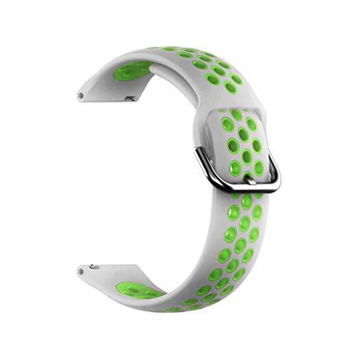 WE-WHLL Correa de Reloj de Pulsera de Silicona Deportiva Ajustable Accesorio de Correa de Reloj de Pulsera de Silicona Accesorio para Xiaomi-Mibro Air-G