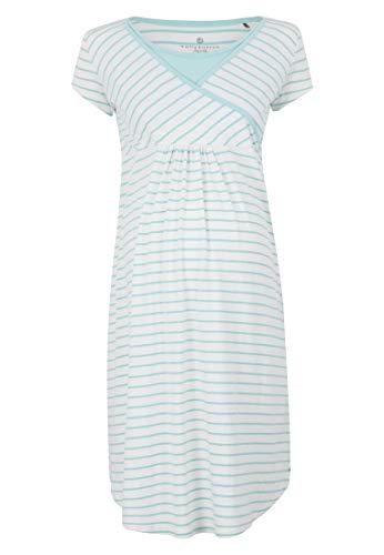 bellybutton Nachthemd kurzärmlig mit Stillfunktion Women Eggshell Blue,L,Grün Damen