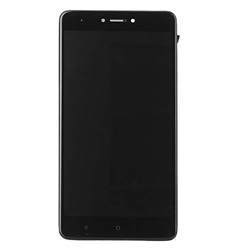 GZYF para la versión global Xiaomi Redmi Note 4 3G/4G RAM LCD Digitalizador Asamblea de Cristal Pantalla Táctil Repuestos Piezas de Reparación w/Marco Negro