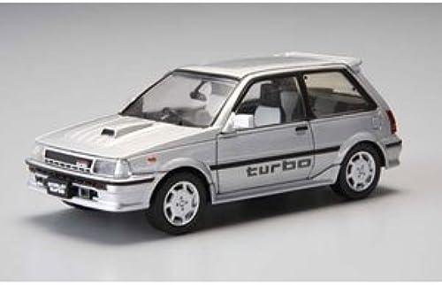 alto descuento 1 1 1 43 DISM EP71 Starlet Turbo S 1300 Early Type ['86] (plata) (japan import)  hasta 60% de descuento