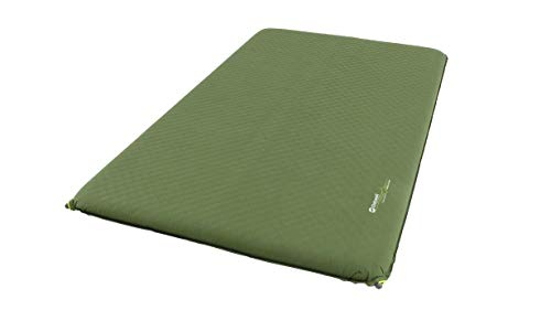 Outwell Unisex Traumfänger-Schlafmatte, selbstaufblasend, Mehrfarbig, Doppelbett, 10 cm