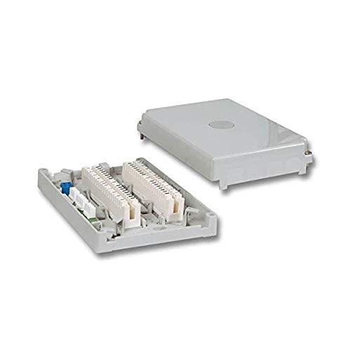 LSA Minibox 201 C 20DA, inkl. 2 x 10DA Anschlussleisten