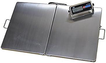 Balance plate-forme portable véterinaire, industrie, entrepôt, agriculture 300kg - 92 x 56cm
