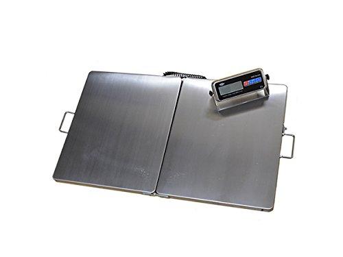 Bilancia piattaforma portatile veterinaria, industria, magazzino, agricoltura 300kg–92x 56cm