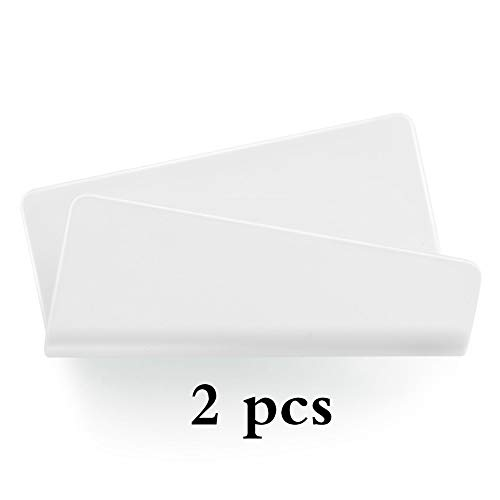 2pcs Wall Mobile Phone Charging Station Wall Bedside Table Mobile Phone Holder Support Frosted Scratchless Paste Charging Hanger
