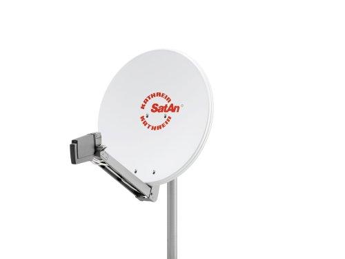 Kathrein CAS 80 Offset-Parabolantenne (Satelliten-Antenne, multifeedfähig) weiß