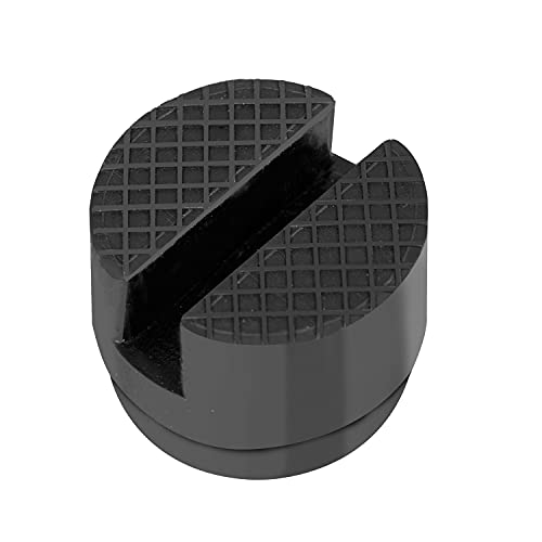BIG RED AT825010-9B Torin Hydraulic Trolley Service/Floor Jack Accessory: 5 cm Adapter Rubber Guard Lift Pads, Black, Pack of 1