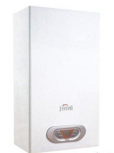 Scaldabagno A Gas Ferroli Sky 11F Metano Completo Di Kit Per Scarico Fumi