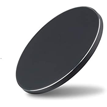 AT&T (USA) WC50 Super Slim Qi-Certified Wireless Charger Pad, Compatible with iPhone SE2 /11/11 Pro/11 Pro Max/XR/XS/X/8, Samsung Galaxy Series (No Adapter)