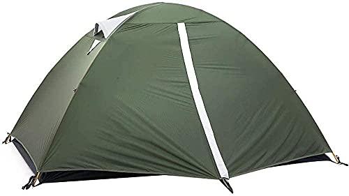 JSL Tienda de campaña al aire libre para 1 – 2 personas con revestimiento de silicona para playa, refugio de sol, luz y fácil de llevar impermeable para deportes, senderismo, viajes, lluvia