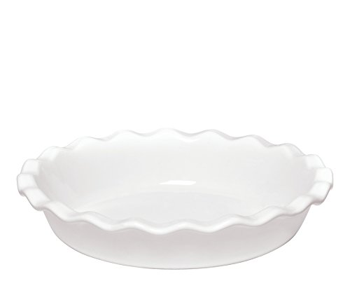 Emile Henry Made In France 9 Inch Pie Dish, Flour