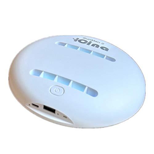 LG&S Smart Bettreiniger Mini Dust Milbe Vakuum Wiederaufladbare UV-Anti-Staub-Staubsauger Für Matratzen, Kissen, Vorhänge, Sofas Und Teppiche