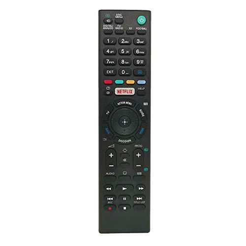Neue Sony Ersatz Universalfernbedienung mit Netflix-Tasten, Für Sony Bravia Smart TV - Keine Einrichtung erforderlich Universalfernbedienung