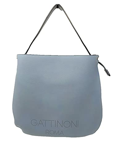 Gattinoni Arisa - Bolsa Hobo de poliuretano azul BENAR7826WVP200 (azul)