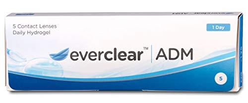Everclear ADM Tageslinsen weich, 5 Stück/BC 8.6 mm/DIA 14.2 mm / -0.75 Dioptrien