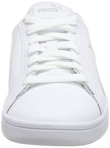 PUMA Smash V2 L, Zapatillas Unisex Adulto, Blanco White White, 47 EU