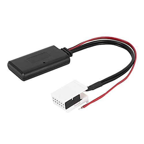 Cable de adaptador de radio negro, Altavoces de Coche Hecho Plástico Módulo Bluetooth Macho Estéreo Audio