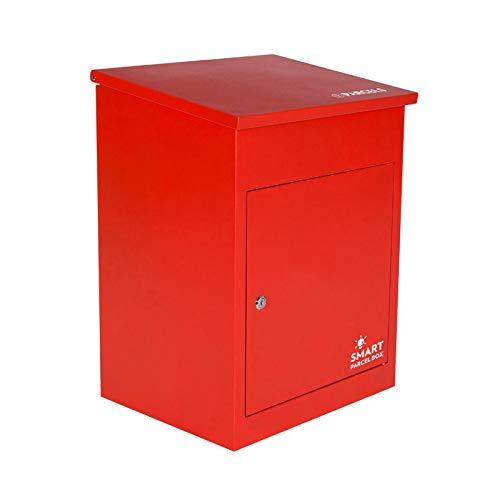Paketbriefkasten Smart Parcel Box, rot - 2