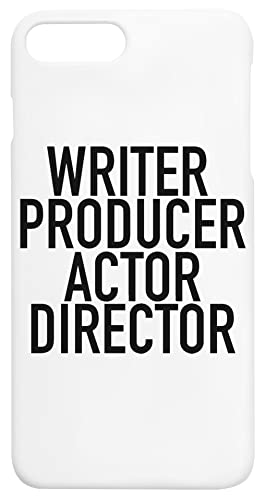 Writer Producer Actor Director Everything iPhone 7+, 8+ Protector Carcasa de Telefono Protective Phone Case