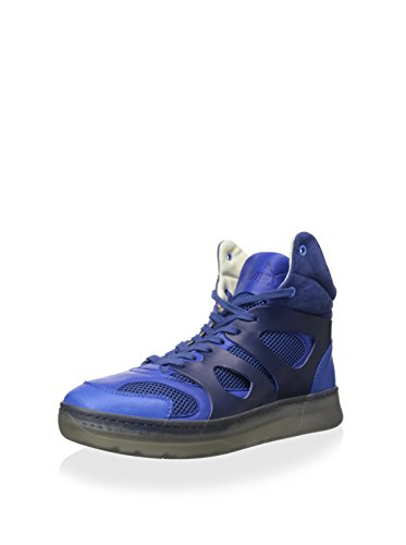PUMA Mens MCQ Move Mid Alexander McQueen Blue Leather Size 12 Athletic Sneakers