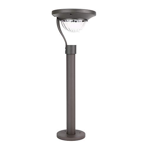 MAGFYLY Solar Lawn Lamp Luz Solar Redonda para Césped, Impermeable, Respetuosa con El Medio Ambiente, para Césped Y Jardín, Iluminación De Paisaje Al Aire Libre