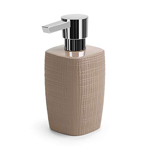 NYKK Dispensadores de loción Cerámica de la Botella de líquido de jabón para el hogar de cerámica Tipo de Prensa de Prensa de emulsión dispensador de emulsión dispensador de jabón jabón (Color : E)