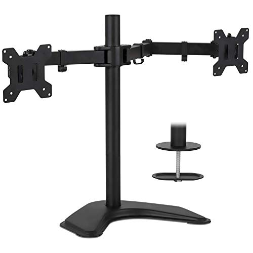 Mount-It! Freestanding Dual Monitor Stand