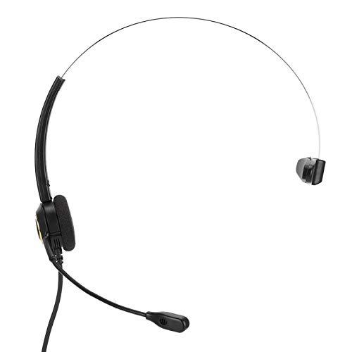 Crisis Auricular de computadora, Auricular de Negocios con micrófono para Oficina