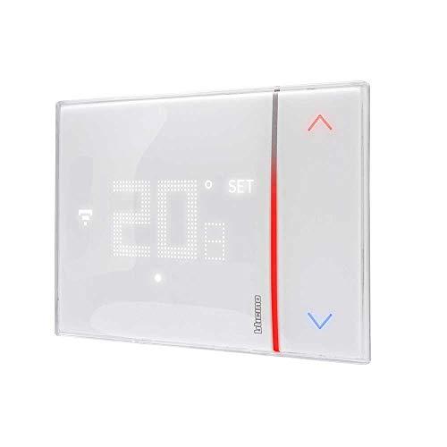 Bticino Termostato WiFi intelligente Smarther2 with Netatmo SXW8002, Incasso, Bianco